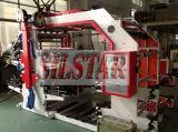 Máquina de la impresión en color cuatro para la película plástica