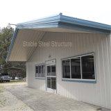 Doppeltes Eingangs-Licht-Stahlkonstruktion-Speicher-Haus