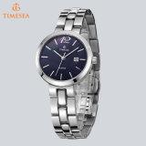 Montre en acier de Madame mode de montre de quartz de femme avec le Japon Movement71154