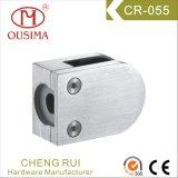 Braçadeira de vidro da balaustrada do aço inoxidável com a alta qualidade para o sistema do corrimão (CR-055)