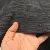 300d Horizontal Stripe металлическая ткань Оксфорд возникновения для мешков/мебели