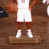 Whosaleの樹脂のバスケットボール選手は販売のためのヘッドについてへまをする