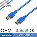Het Mannetje van de Kabel van de Gegevens USB 3.0 van de Hoge snelheid van Sipu aan Mannetje
