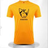 Les T-shirts des hommes extérieurs de ventilateurs de chemise courte de Rond-Collet