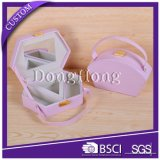 Коробка подарка ювелирных изделий конструкции OEM просто упаковывая с ясным окном