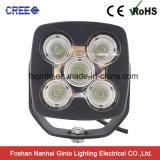 Lumière 5inch de travail du CREE DEL de la haute énergie 10W*5PCS