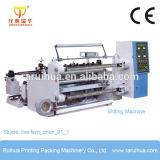 Máquina que raja del papel de aluminio