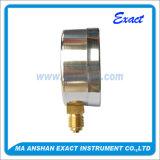 스테인리스 상자 압력 측정하 일반적인 사용 압력 측정하 건조한 압력 계기
