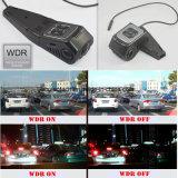 Nouveau caméscope caché Mini Car Dash construit dans la caméra de voiture 5.0mega, Novatek Ntk96650 CPU, WDR, G-Sensor, suivi GPS, WiFi pour le contrôle du téléphone mobile DVR-1519