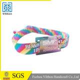 Difundido Personalizadas tejida pulsera RFID pasiva