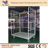 Lager-logistische Laufkatze-Hochleistungskarre mit Stahltüren