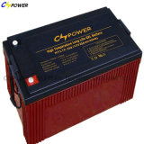 Bateria solar 110ah 12V, bateria profunda do ciclo do gel do painel solar
