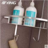Mensola dell'acquazzone della stanza da bagno della mensola di Tirangle di serie di alluminio dello spazio doppia