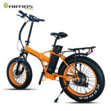 Heißer Bewegungsgebirgsfetter Gummireifen-elektrisches Fahrrad des Verkaufs-26inch leistungsfähiger
