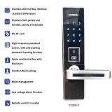 Blocage de porte de clavier numérique de Digitals de mot de passe de Pin de conseils de voix avec Deadbolt