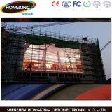 P10 고품질 1/2 검사 옥외 풀 컬러 LED 영상 벽