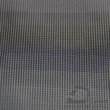 Agua y de la ropa de deportes tela negra tejida chaqueta al aire libre Viento-Resistente 100% del filamento del hilado del poliester del telar jacquar de la tela escocesa abajo (FJ015)
