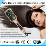 Fast Hair Straightening Brush Iron with Mch Heater