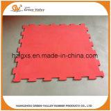 Половой коврик плитки Approved головоломки En71 резиновый для Crossfit
