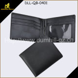 直接中国の人の財布、黒いお金クリップ札入れの人の財布