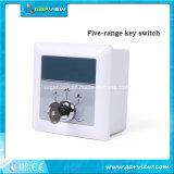 Interruttore elettrico multi posizione con a chiave per il portello automatico