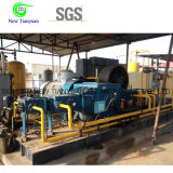 compresor de gas de impulso de la presión 0.05-1.5MPa para la industria del campo petrolífero