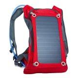 自転車に乗ることのために適した一義的なデザインの方法太陽バックパック
