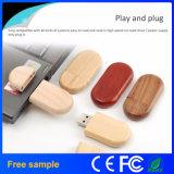 Da movimentação de madeira real do flash do USB da capacidade de 100% memória de madeira do USB