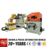 Alimentador automático de folha de bobina com endireitador para linha de imprensa (MAC4-800F-1)