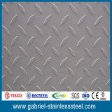 Numéro 1 a terminé la plaque Checkered de diamant de l'acier inoxydable 201 202 304 316
