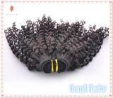 緩いねじれた巻き毛のバージンのブラジルの毛の編むか、または毛の拡張