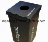 Caja de embalaje de polipropileno con Impresión En lugar de caja de cartón con cinta de sellado magia
