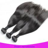 Rohes unverarbeitetes Nicht-Verschüttendes seidiges gerades mongolisches Jungfrau-Haar