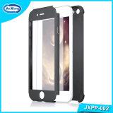360 도 강화 유리 프로텍터를 가진 iPhone 7을%s 가득 차있는 방어적인 이동 전화 상자