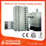 Máquina grande de la vacuometalización de la talla PVD del acero inoxidable para la hoja de acero inoxidable coloreada