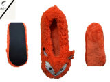 7つのカラー女性の動物のヘッド屋内靴(RY-SL1626)