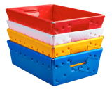PP 상자를 용접하는 벤치 유형 플라스틱 용접 기계