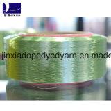 Het middel-Geverfte Garen FDY 30d/18f van de Gloeidraad van de polyester