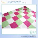 Couvre-tapis de rampement durable et propre, couvre-tapis d'étage, tapis de bébé d'EVA avec la fourrure