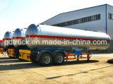 50-60 CBM de Aanhangwagen van de Tankwagen van het LNG, semi aanhangwagen voor LNG