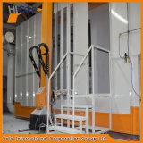 Cabina di spruzzo automatica della polvere del multi ciclone con due cicloni