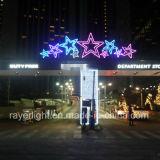 LEDの大きく軽いクリスマスの休日の星の装飾ライト