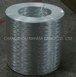 fibre discontinue de Jet-vers le haut de fibre de verre de l'E-Glace 2400tex