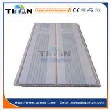 白い光沢の溝形PVC天井板の工場