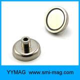 Ímã forte da linha de parafuso M3/M4/M6/M8/Pot do ímã do Neodymium