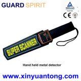 Mini detetor de metais à mão recarregável portátil com sensibilidade elevada