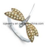 Anello di qualità superiore dell'acciaio inossidabile 316 con l'agata