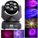 Des LED-6PCS 15W Träger-bewegliches Haupteffekt-Licht Bienen-Augen-RGBW 4in1