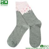 Gestrickte junge Form-Baumwollmannschafts-Socken