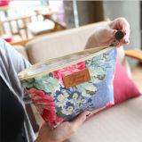 Sacos cosméticos feito-à-medida dos fabricantes coreanos da impressão da película